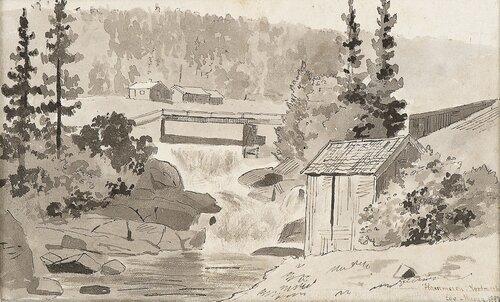 Hammeren in Nordmarka 1882