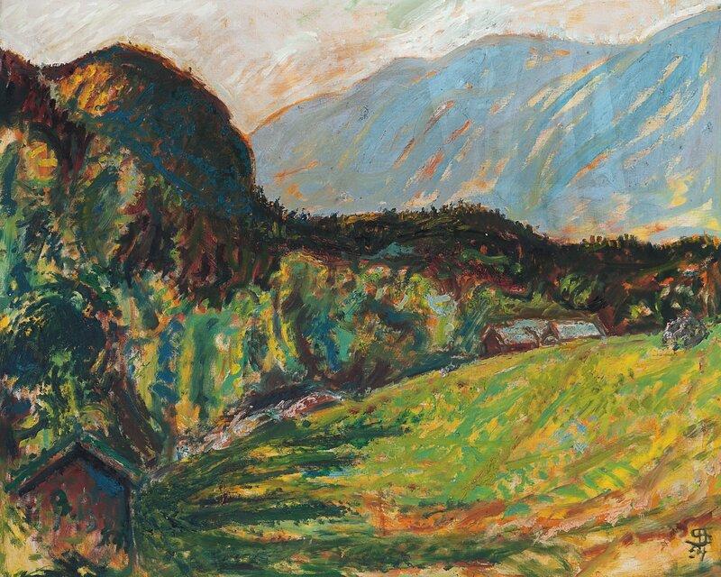Mot høst, Vinje 1954