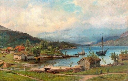 Fra Dale i Sunnfjord 1866