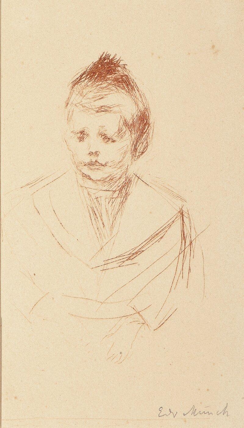 Portrett av Lothar Linde