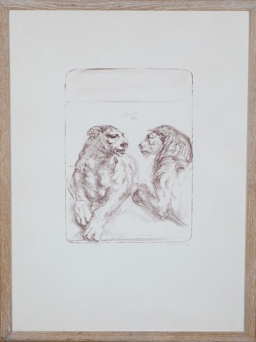 Løve og løvinne 1974