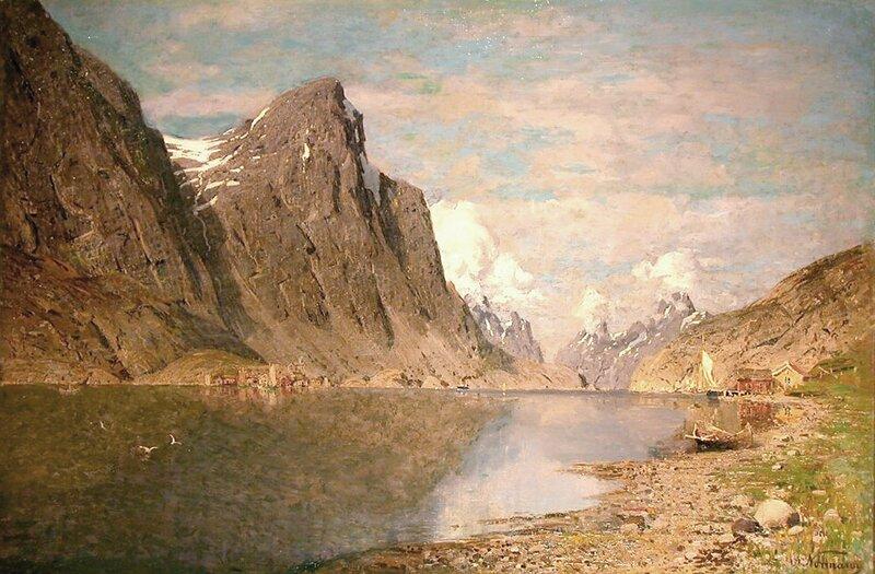 Fjordlandskap