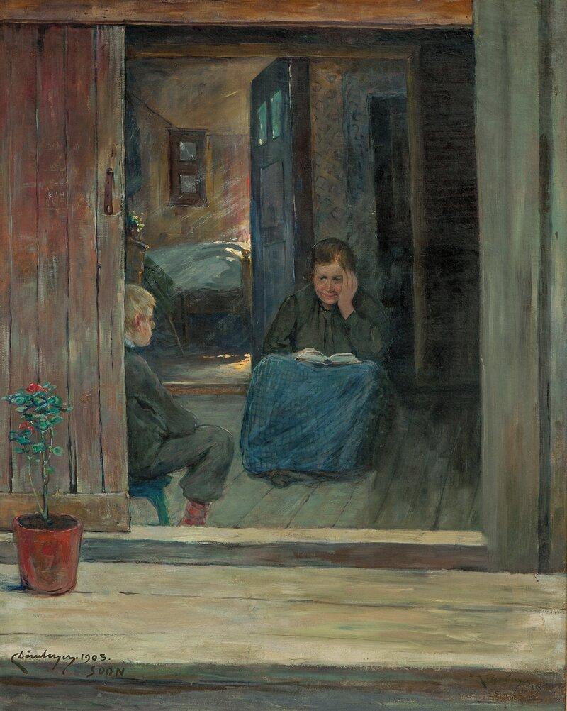 Søndagsandakt 1903
