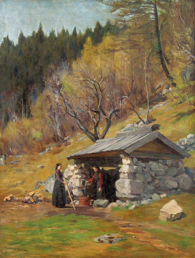 Klesvask 1895