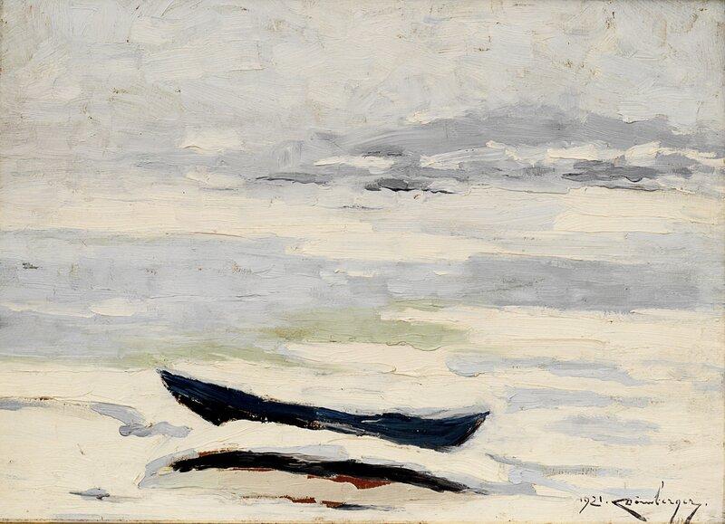 Fra Son, vinter 1921