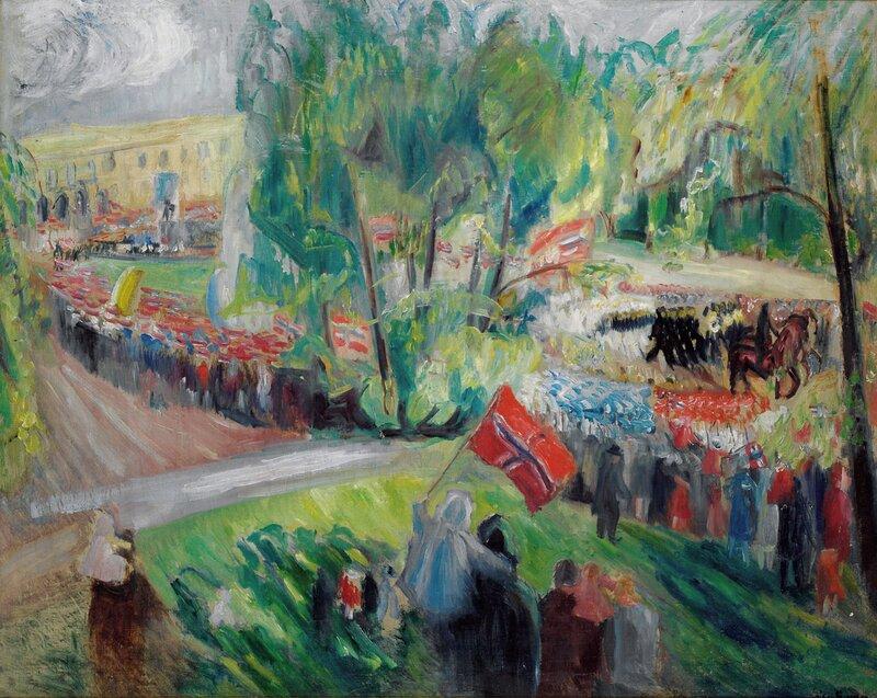 17. mai på Karl Johan