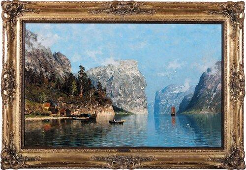 Folkeliv i Sognefjorden 1879