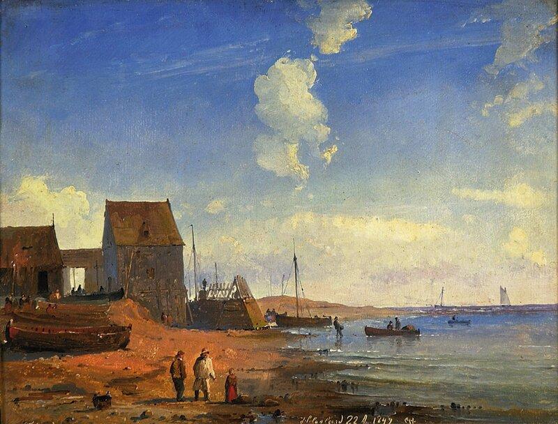 Parti fra Helgoland 1849