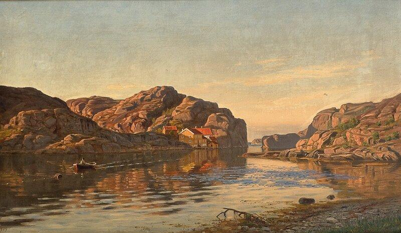 Morgen, Ny-Hellesund 1909