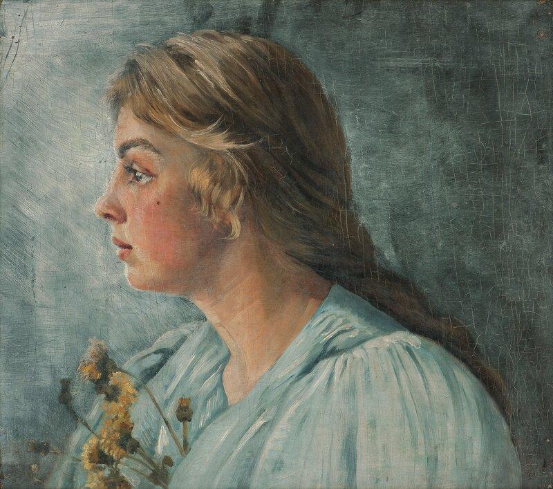 Portrett av Astri Welhaven