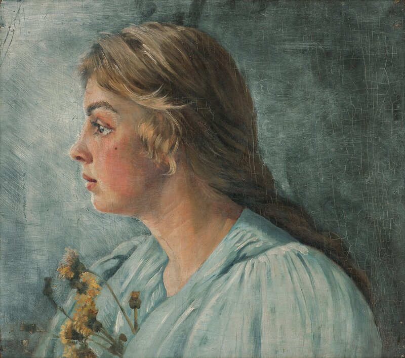 Portrait of Astri Welhaven