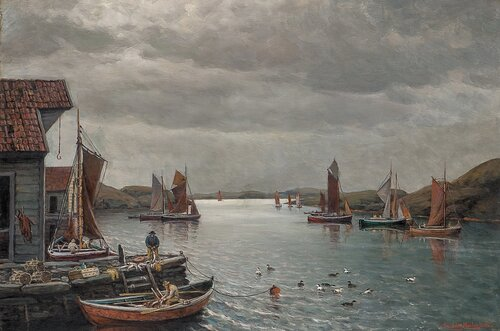 Fiskehavn 1932