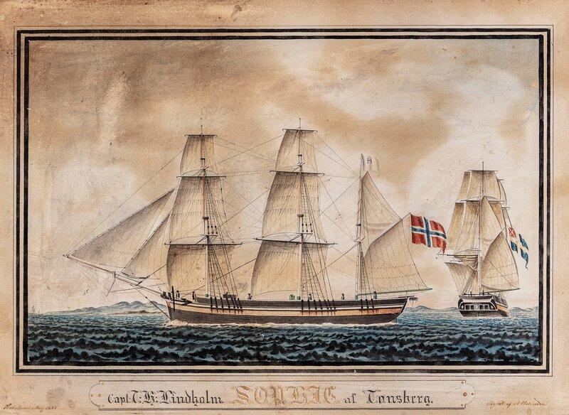 Barken Sophie af Tønsberg 1833