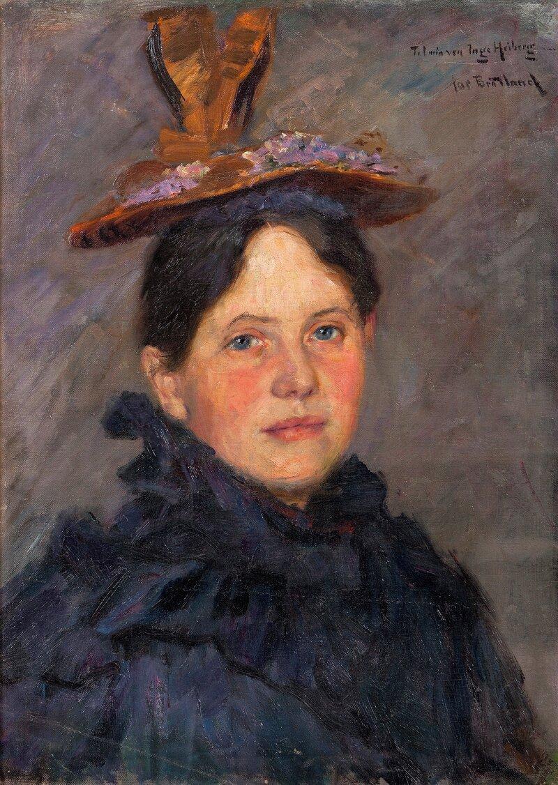 Portrett av Bokken Lasson